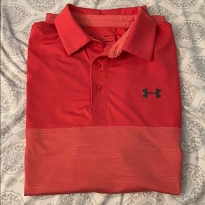 Under Armour Golf Polo (Pink)